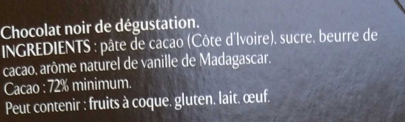 Recettes de l'Atelier N°4 Noir Epicé - Ingredients - fr