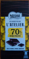 Noir fruité 70% cacao - Product