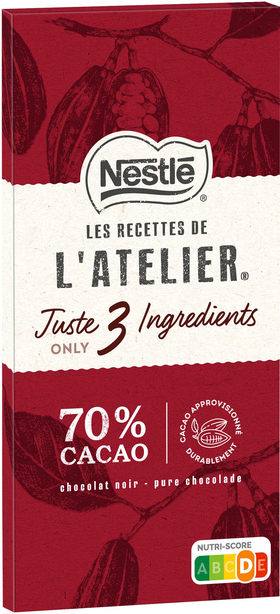 NESTLE L'ATELIER Noir 70% - Prodotto - fr