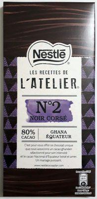 Recette n°2 Noir corsé - Product