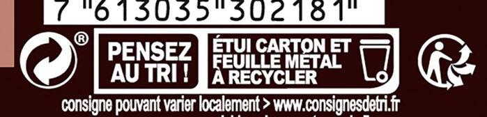 80% Cacao - Instruction de recyclage et/ou informations d'emballage - fr