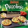 BUITONI PICCOLINIS TENTAZIONE mini-pizzas surgelées Duo de Champignons 270g (9 pièces) - Produto