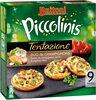 BUITONI PICCOLINIS TENTAZIONE mini-pizzas surgelées Duo de Champignons 270g (9 pièces) - Product