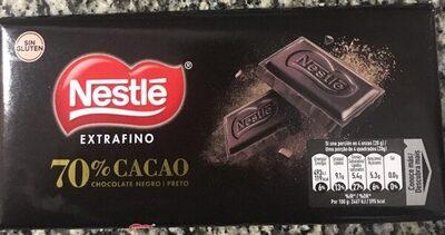 Chocolate negro extrafino de cacao sin gluten - Produit - fr