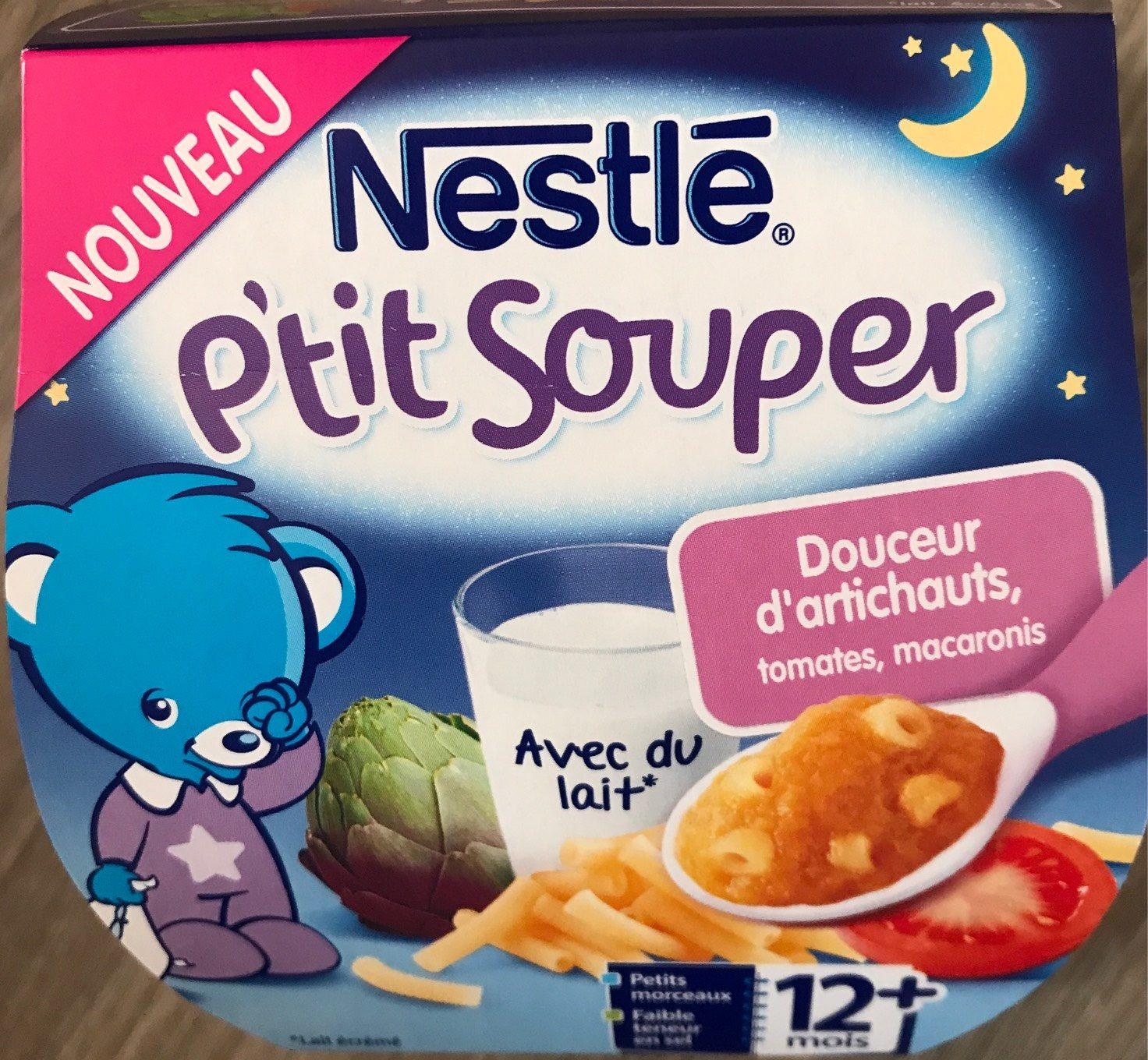 P'tit souper douceur d'artichauts, tomates, macaronis - Product - fr