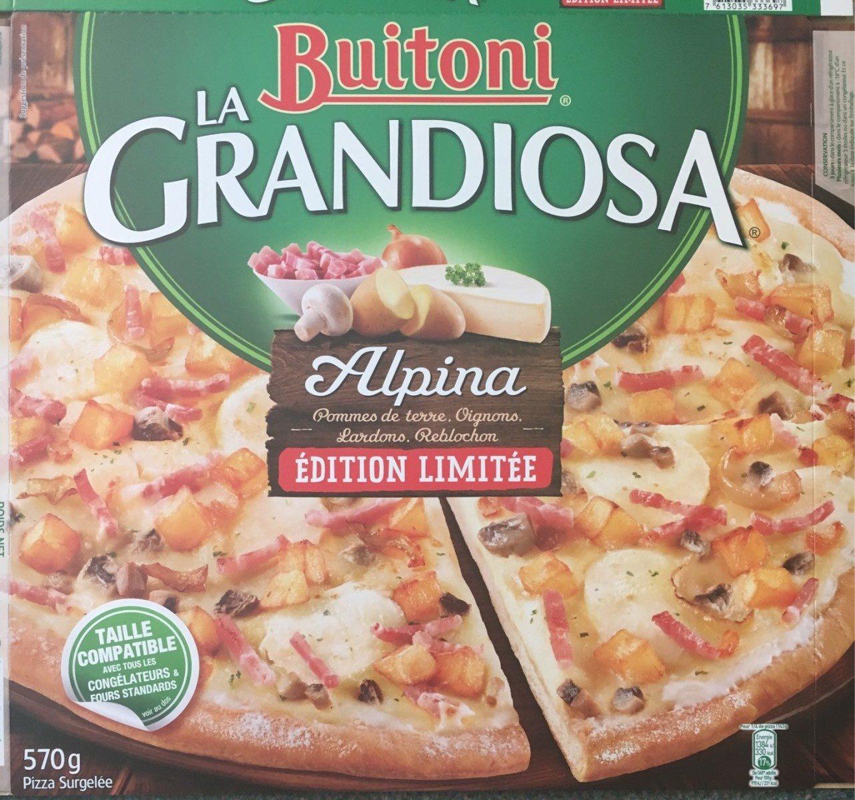 Pizza La Grandiosa Alpina - Product
