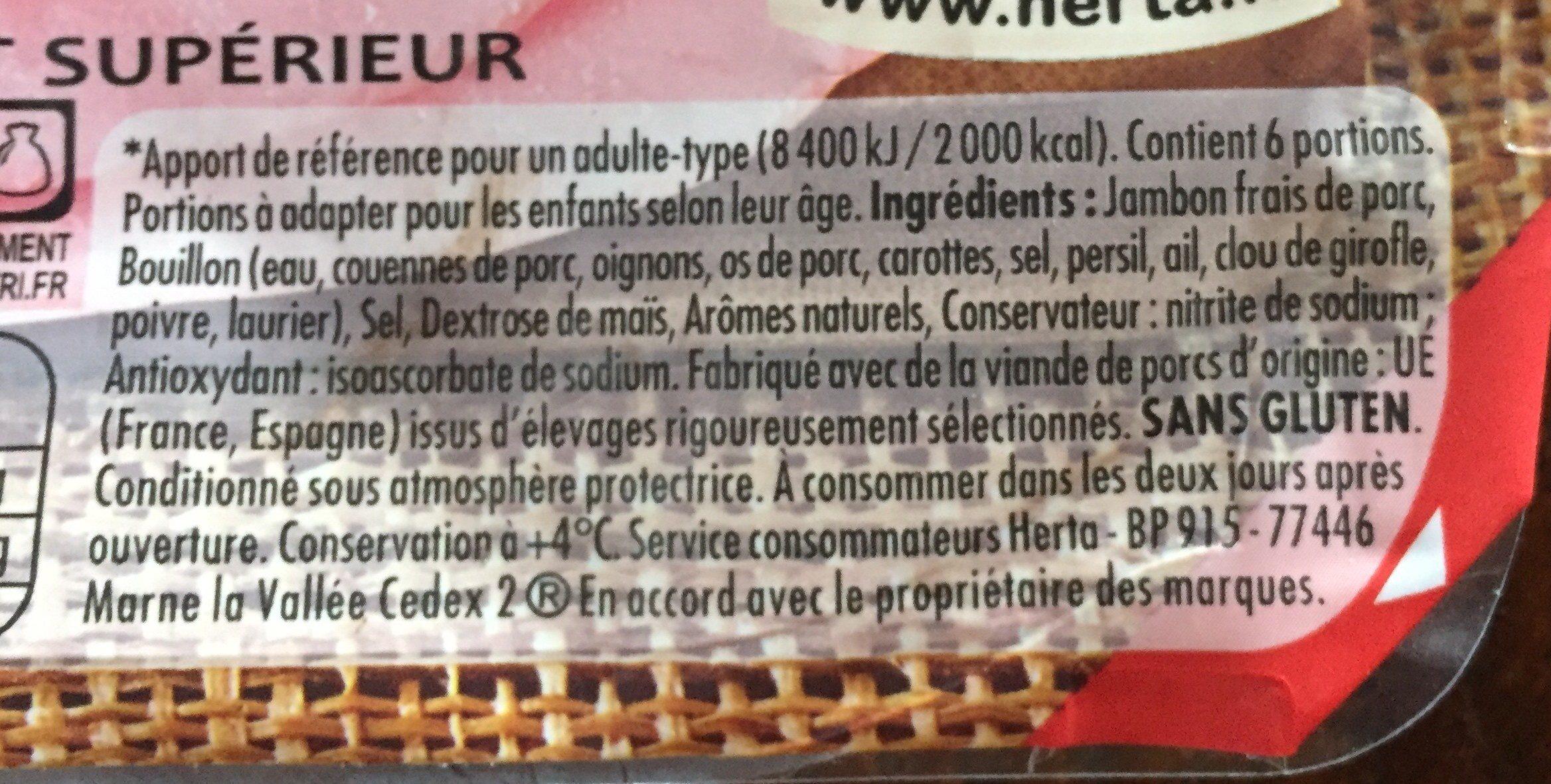 Le Bon Paris à l'Étouffée - Ingrediënten