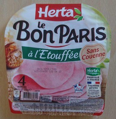 Le Bon Paris à l'étouffée - Produit