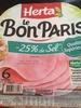 Le Bon Paris (-25% de sel) - Prodotto