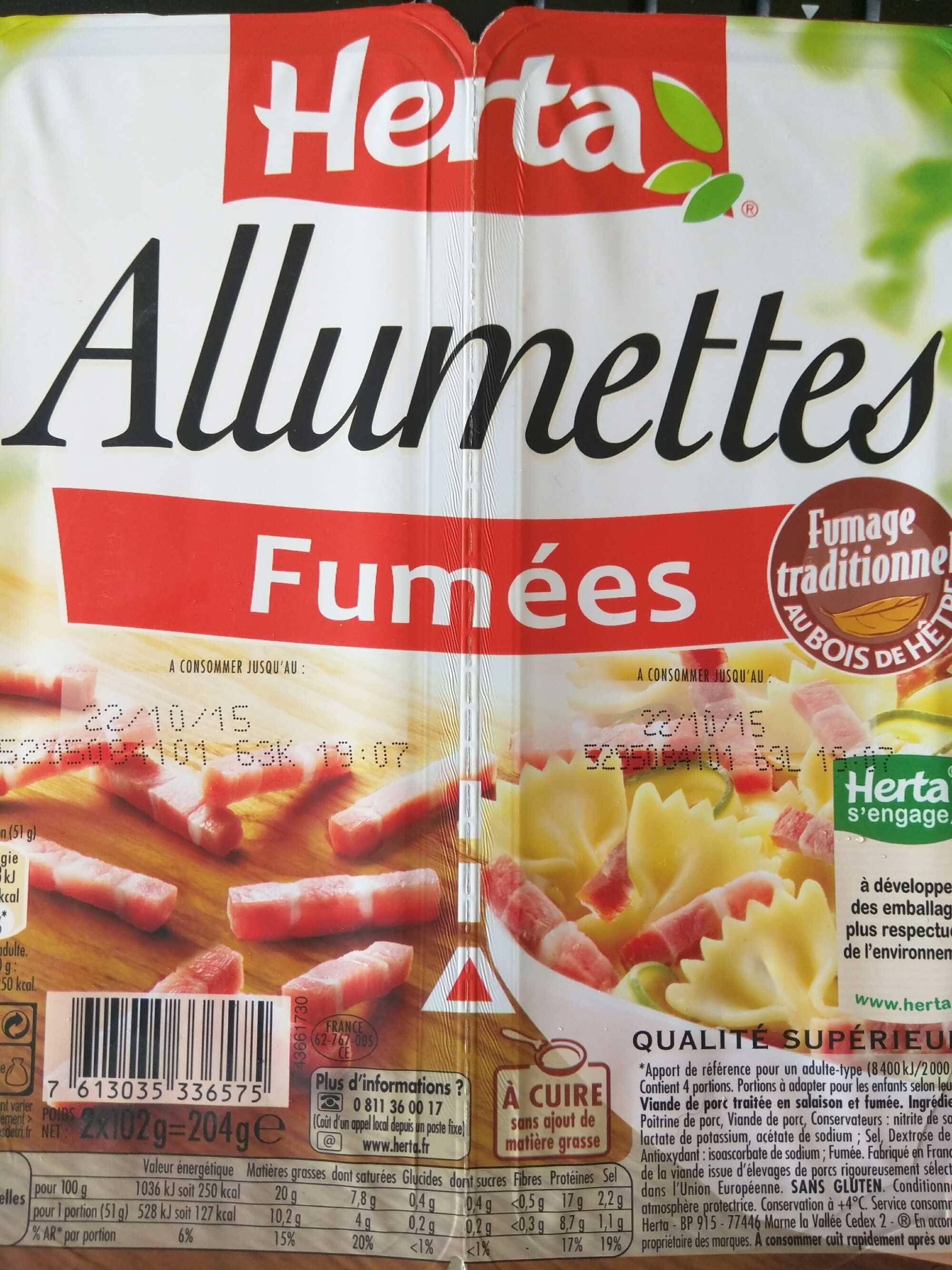 Allumettes Fumées - Product - fr