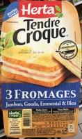 Tendre Croque 3 Fromages - Produit - fr