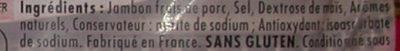 Le bon paris à l'étouffée, sans couenne 4t - Ingrédients - fr