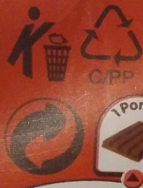 Kit Kat - Kierrätysohjeet ja/tai pakkaustiedot - en