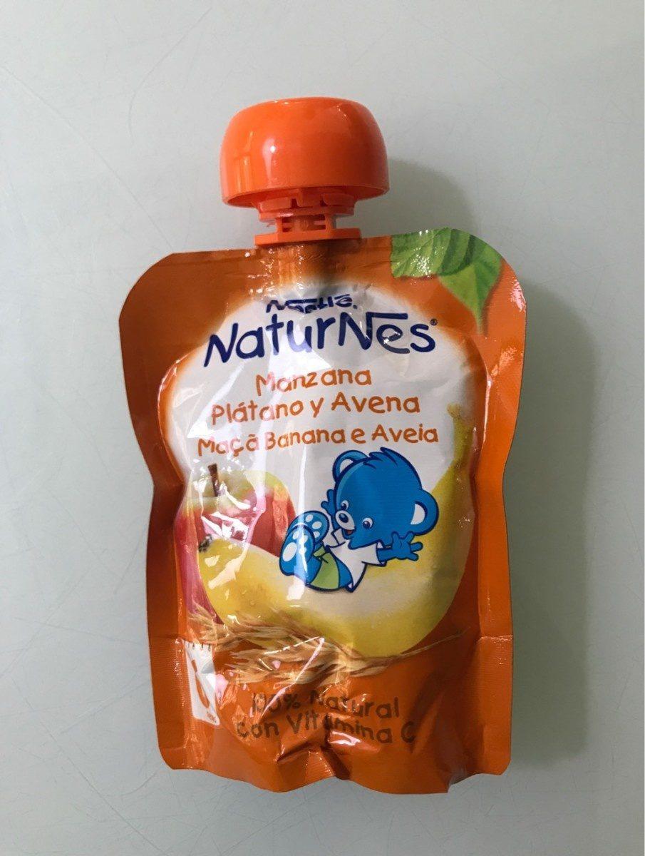 Naturnes manzana, plátano y avena - Prodotto - fr