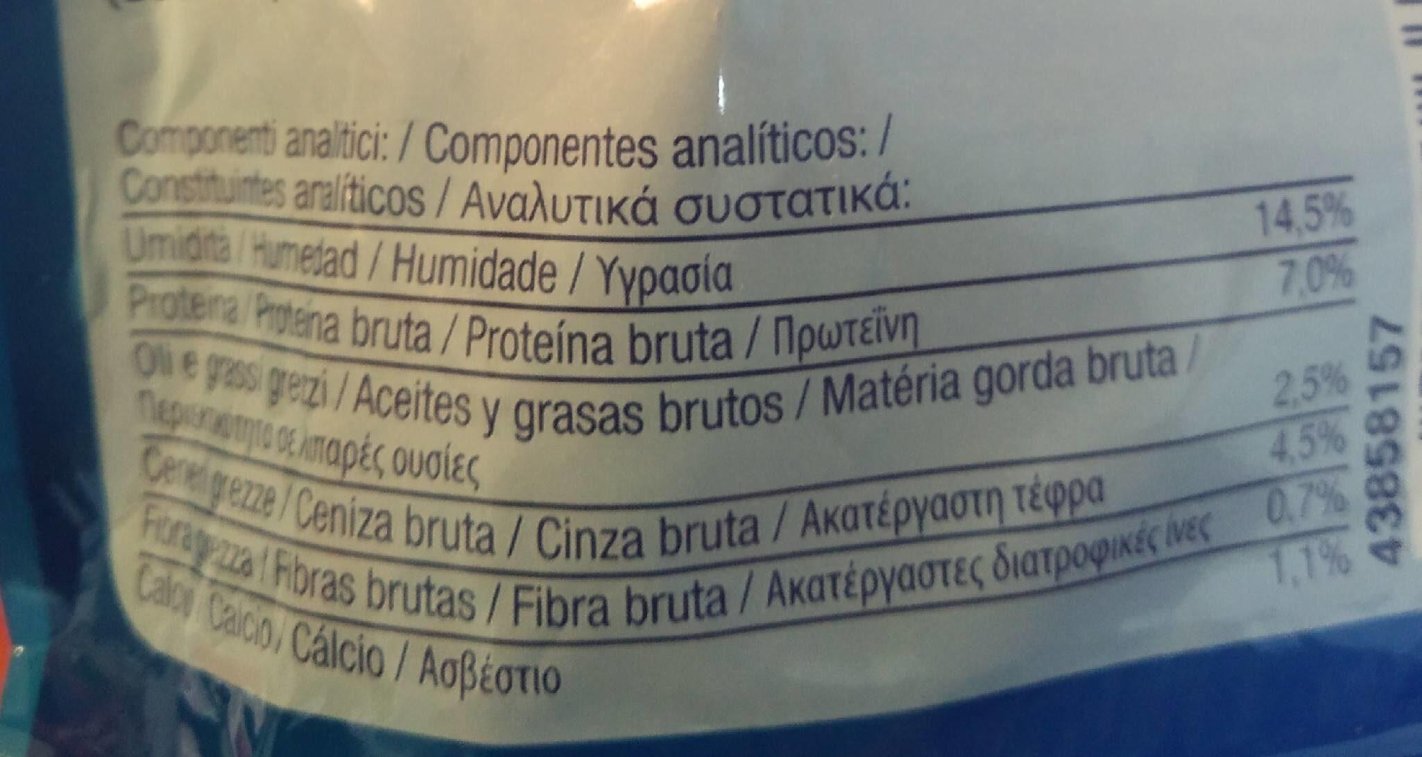 DentaLife - Informations nutritionnelles - es