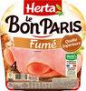 LE BON PARIS Jambon blanc fumé - Produit