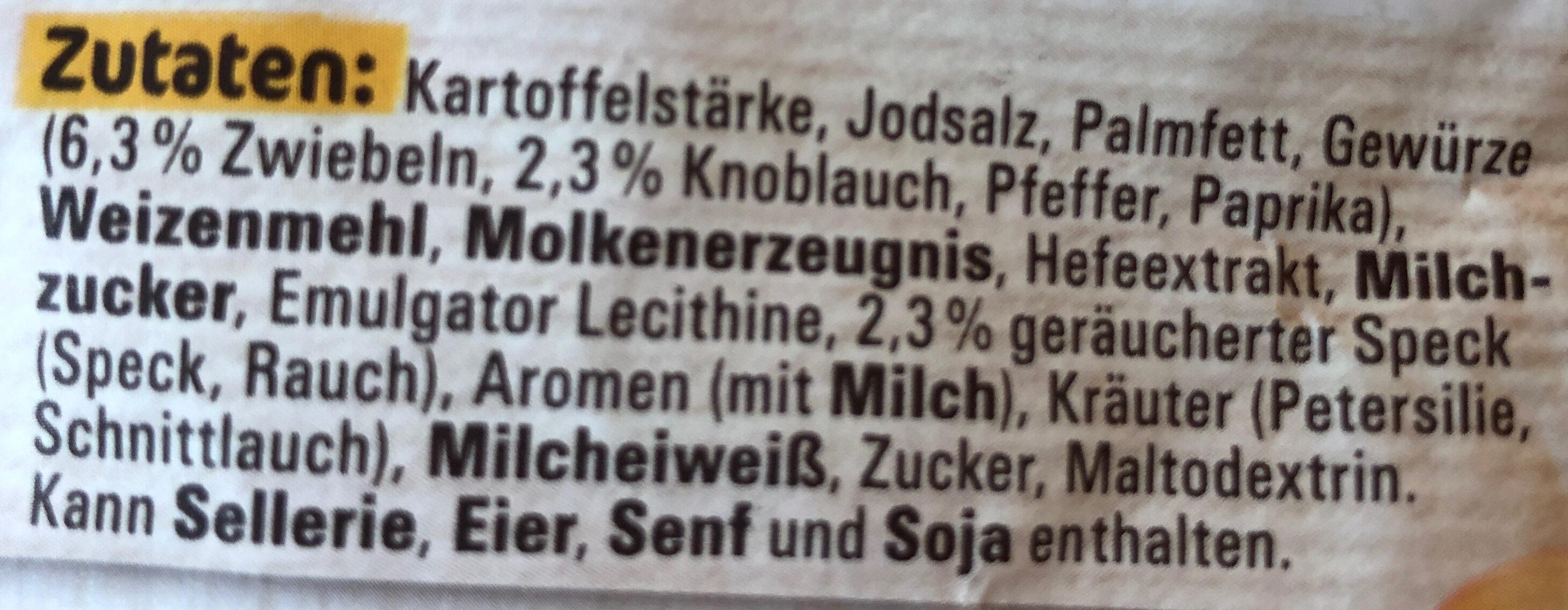 Hack-Lauch Pfanne mit Nudeln - Ingrediënten - de