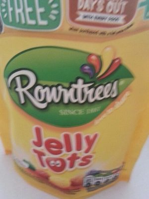 Jelly tots 150g sharing bag - Product - en
