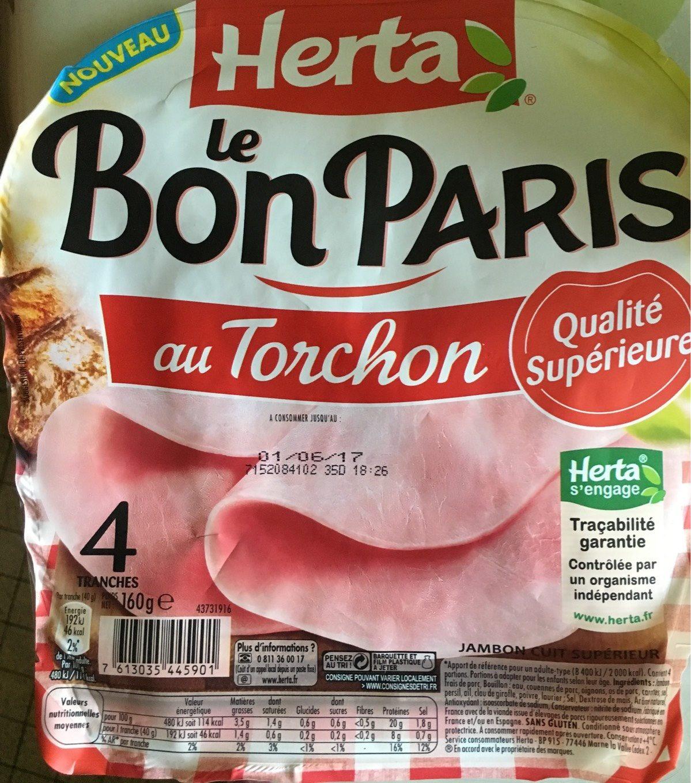 Le Bon Paris au Torchon - Produit - fr