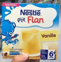 P'tit Flan Vanille - Prodotto - fr