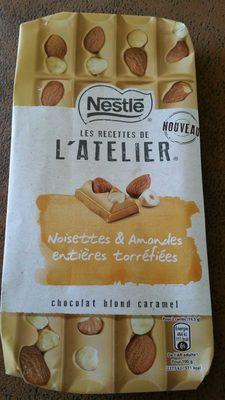 Les recettes de l'atelier - chocolat blond caramel - noisettes - Prodotto - fr