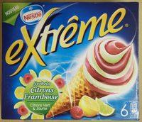 Sorbets Citrons Framboises - Product - fr