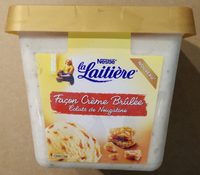 La Laitière Façon Crème Brûlée Éclats de Nougatine - Product - fr