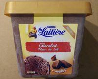La Laitière Chocolat et Fleur de Sel - Produit
