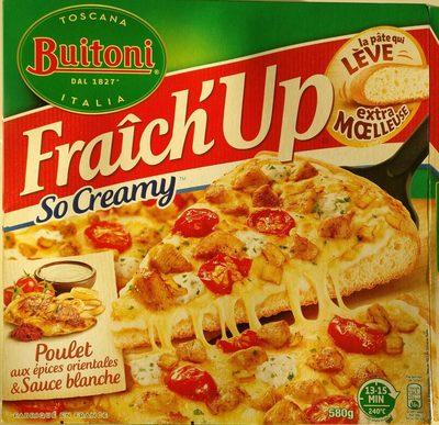 Fraîch'Up Poulet aux épices orientales & Sauce blanche - Produit