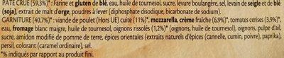 Fraîch'Up Poulet aux épices orientales & Sauce blanche - Ingrédients