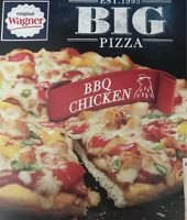 Original Wagner Big Pizza BBQ Chicken - Product - fr