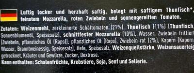 Est.1995 BIG Pizza - Ingredients