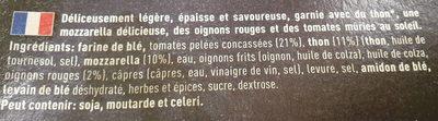 Est.1995 BIG Pizza - Ingrédients