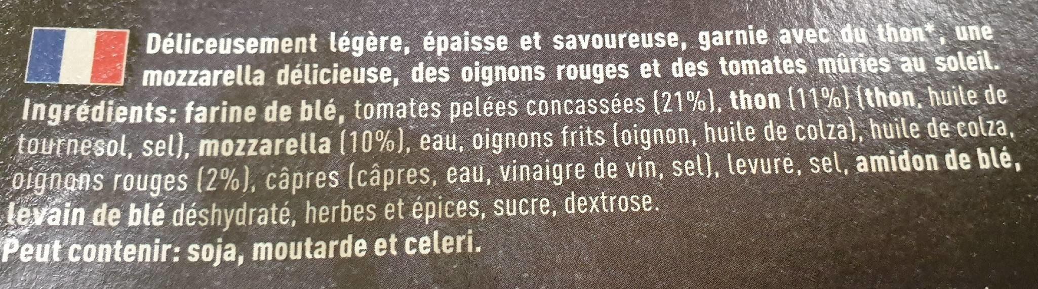 Est.1995 BIG Pizza - Ingrédients - fr