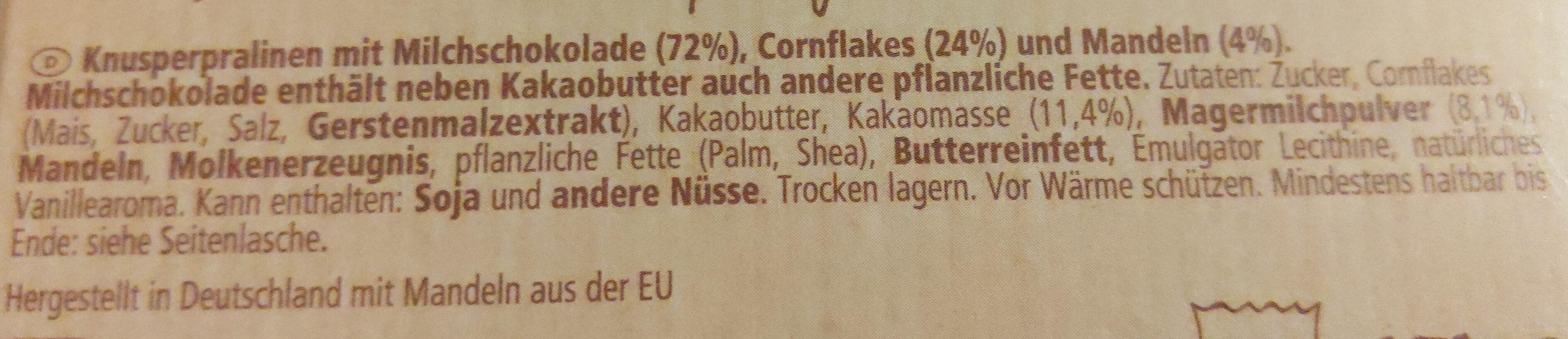 Choco Crossies Original - Ingrediënten - de