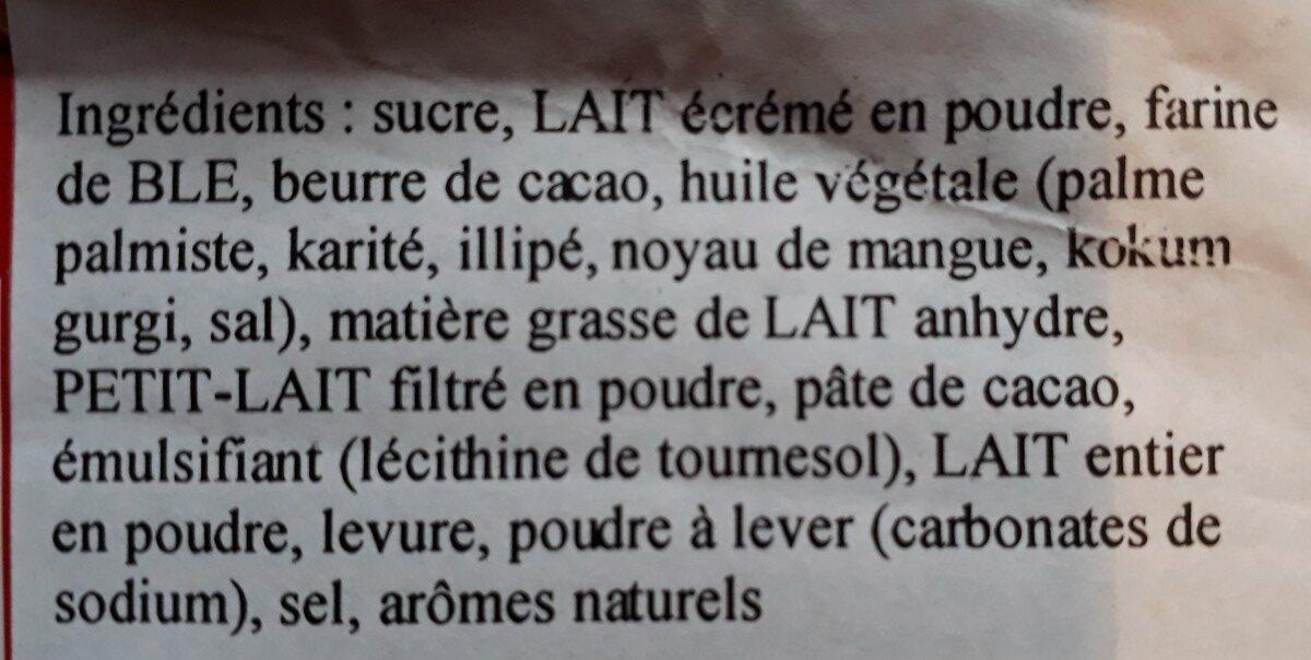 Kit Kat White - Ingrédients - fr