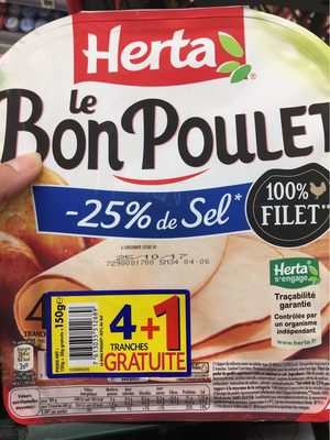 Le Bon Poulet Filet Nature - Product