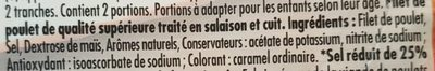 Le Bon Poulet Filet Nature - Ingredients