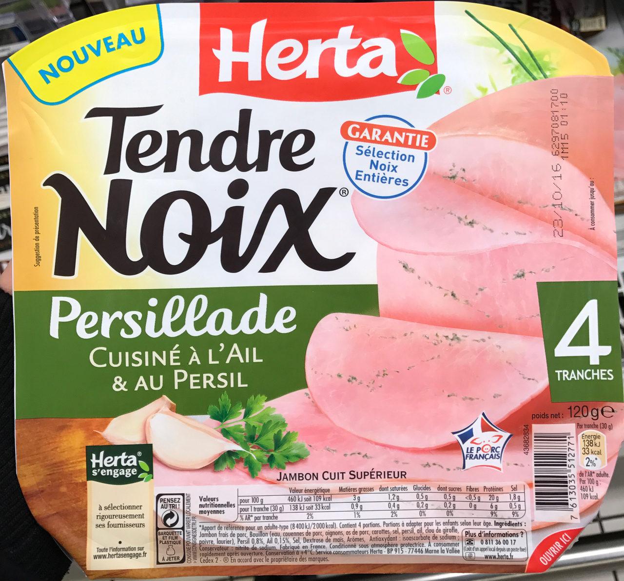 Tendre Noix Persillade - Produit - fr