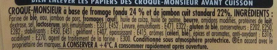 Herta Tendre Croc - Ingrediënten
