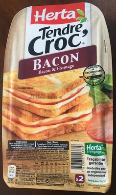 Tendre Croc' Bacon - Product - fr