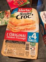 Tendre Croc' L'Original Jambon Fromage Format Familial - Produit - fr