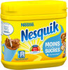 NESQUIK Moins de Sucres Poudre Cacaotée Boîte - Produit
