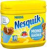 NESQUIK Moins de Sucres Poudre Cacaotée - Prodotto