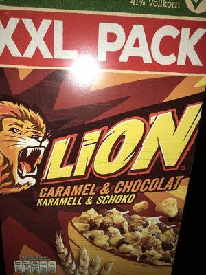 LION Céréales caramel chocolat - Produit - fr