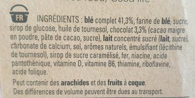 LION Céréales caramel chocolat - Ingrédients - fr