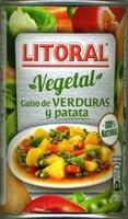 Vegetal guiso de verduras y patata - Producto - es