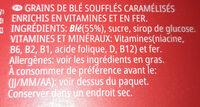 Lion Wild - Ingredienti - fr