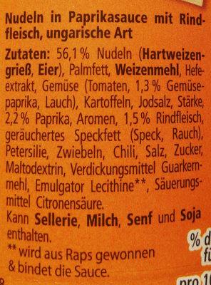Gulasch Topf - Ingrediënten - de