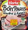 Le Bon Paris - Viande de porc cuite de qualité supérieure saveur rôti - Produit